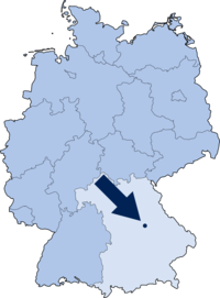 Parsberg in Deutschland (Geodaten: OpenStreetMap)